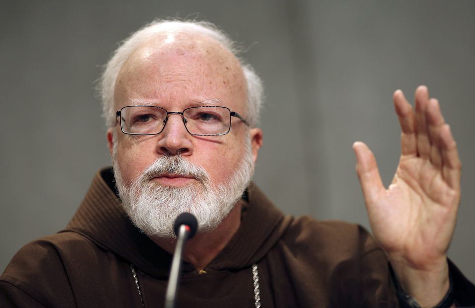 Cardinal Sean Patrick O'Malley spoke during a press briefing at the Vatican in 2014.