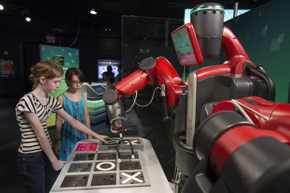 """The """"Robot Revolution"""" exhibit at the Museum of Science and Industry in Chicago."""