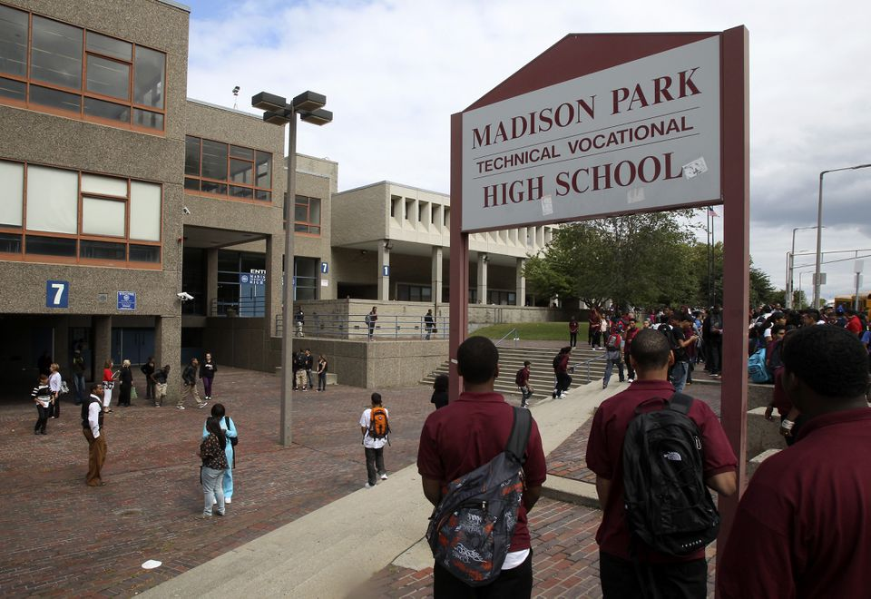 Madison Park Technical Vocational High School, the city's only vocational school, has been troubled for years.