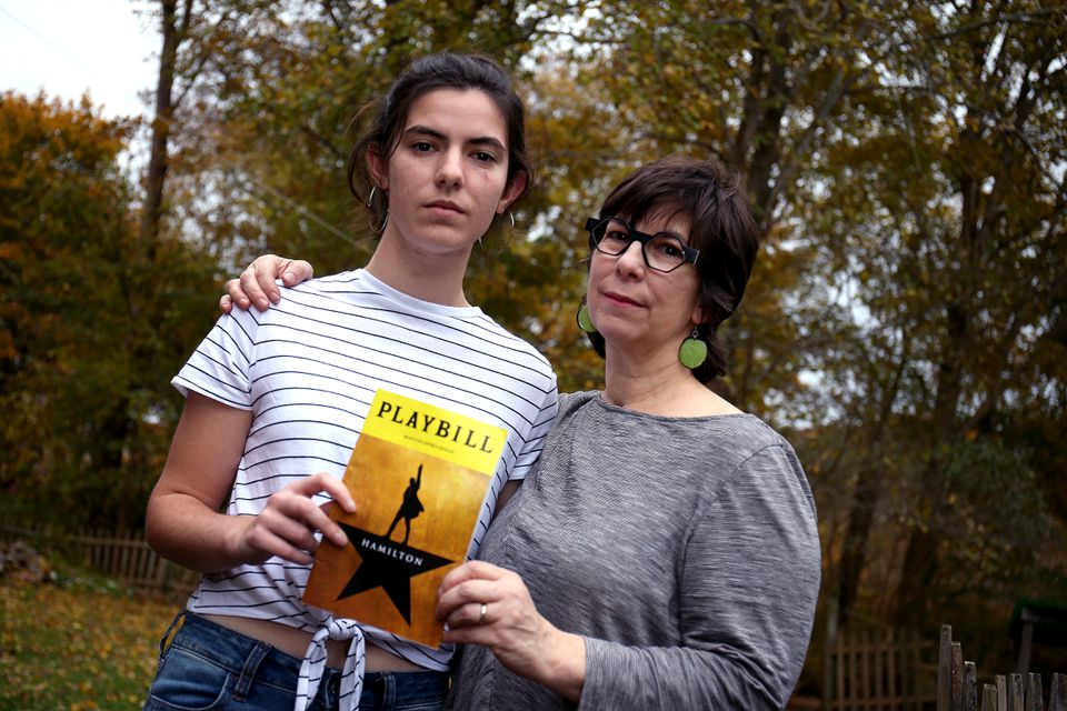 Bo Abrams and daughter, Rebecca Dowd, blamed StubHub for trying to extract extra money out of them for tickets to Hamilton.