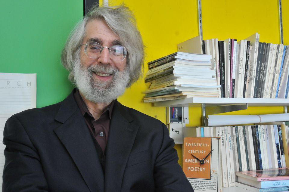 Top: Lloyd Schwartz was recently named the new poet laureate of Somerville.