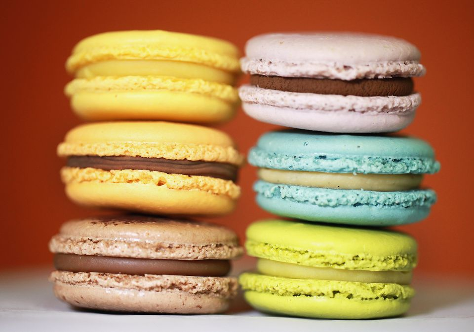 Shira Melen of Northlight Baking Company makes a wide variety of macarons in the kitchen at EHChocolatier.