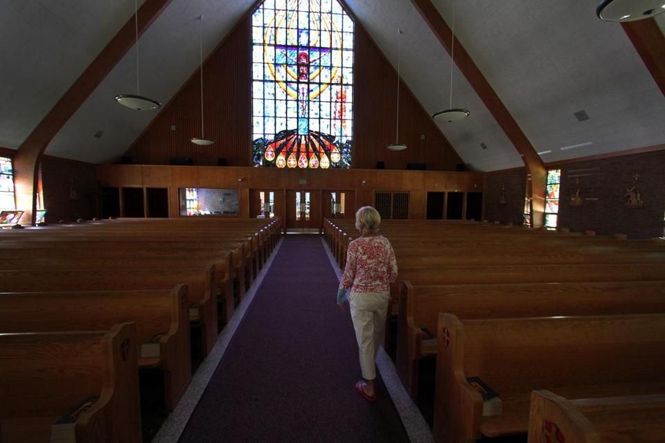Marsha Devir, a parishioner since 1982 at St. Frances Xavier Cabrini church.