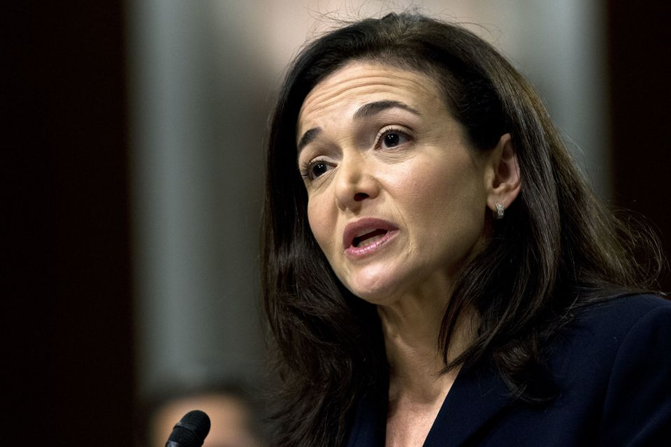 Facebook COO Sheryl Sandberg testifies before Congress in September.