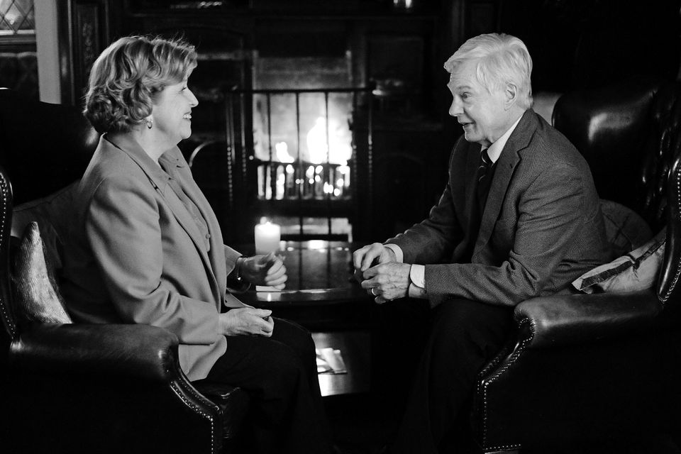 """Anne Reid and Derek Jacobi star in the six-part PBS series """"Last Tango in Halifax"""" as a pair of 70-somethings who reconnect after being widowed."""