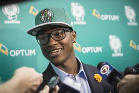 Rozier spoke to members as the Celtics introducing the team's draft picks in Waltham in June.