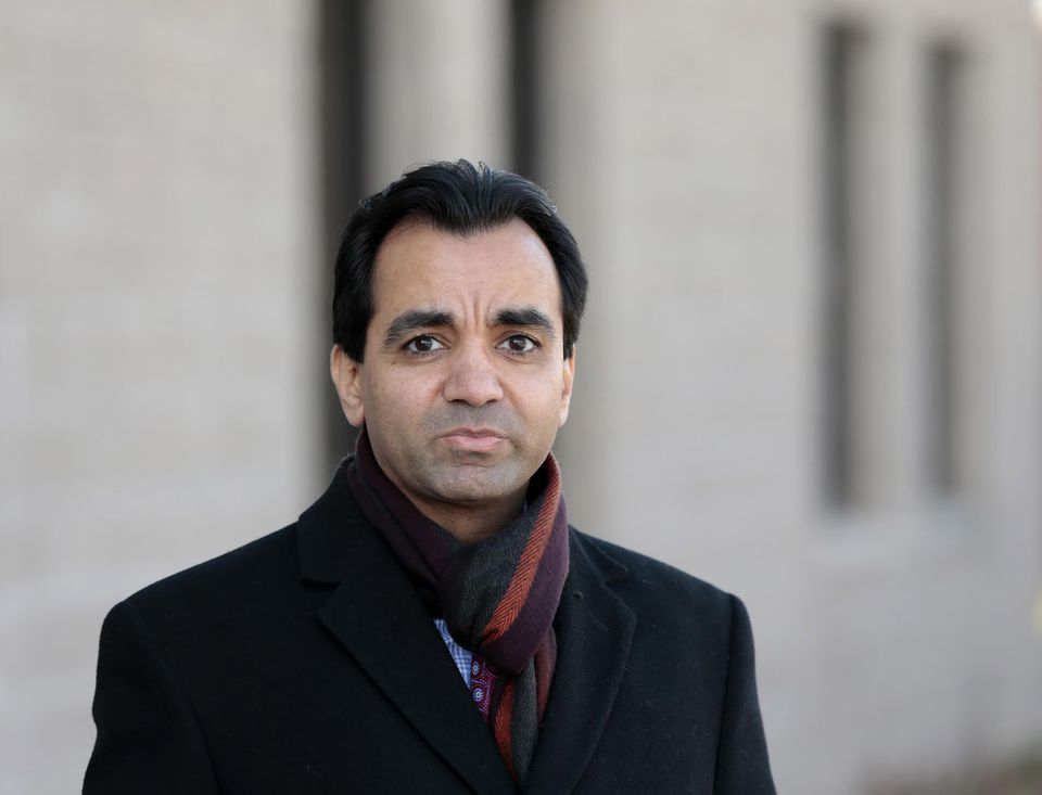 """""""She wanted us to get training and go overseas and fight,"""" said Waqas Jilani (pictured)."""