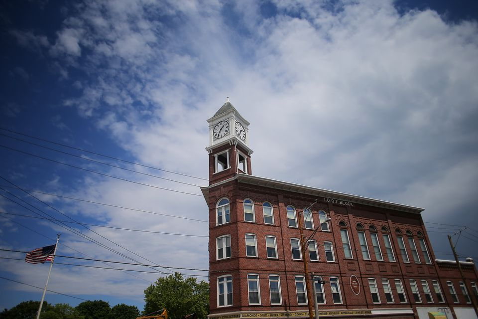 Last year a nonprofit group spent $60,000 to restore a 100-foot-tall clock tower that <br/>is a local landmark.