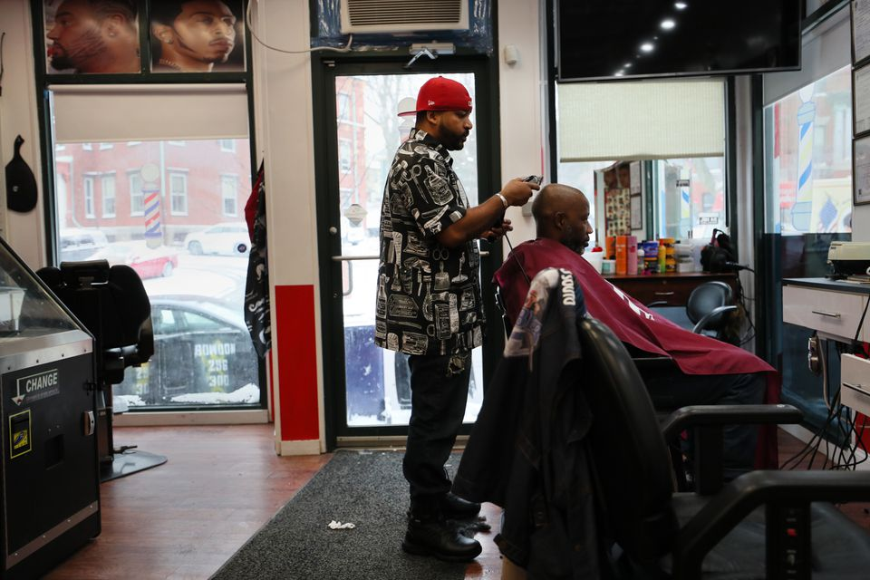 """""""A lot of customers ask if I take credit cards,"""" Johnny's Barber Shop owner Joao Goncalves said. """"I say I don't take them. Sometimes they say, 'I'll go to the bank,' but they don't come back."""""""