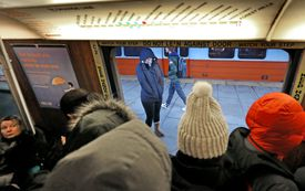 The Orange Line faces major crowding issues during rush hours.