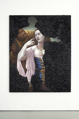 """Titus Kaphar's """"Historical Nonfiction"""" questions inequalities in art history."""