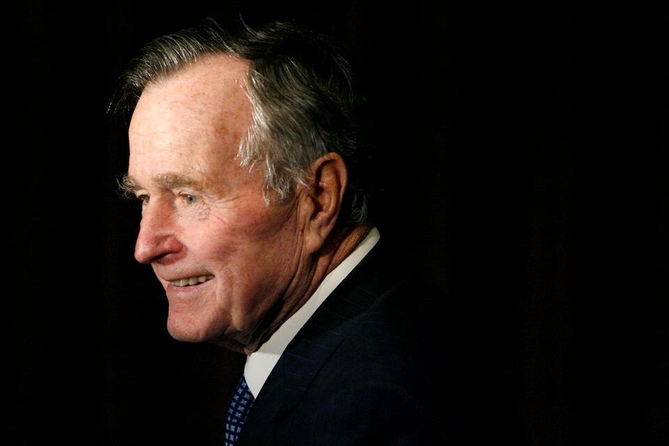 President George H.W. Bush in 2007.