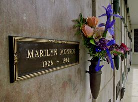 Decades after Marilyn Monroe's death, admirers of the late actress still leave flowers at Crypt 24 of Westwood Village's Corridor of Memories.