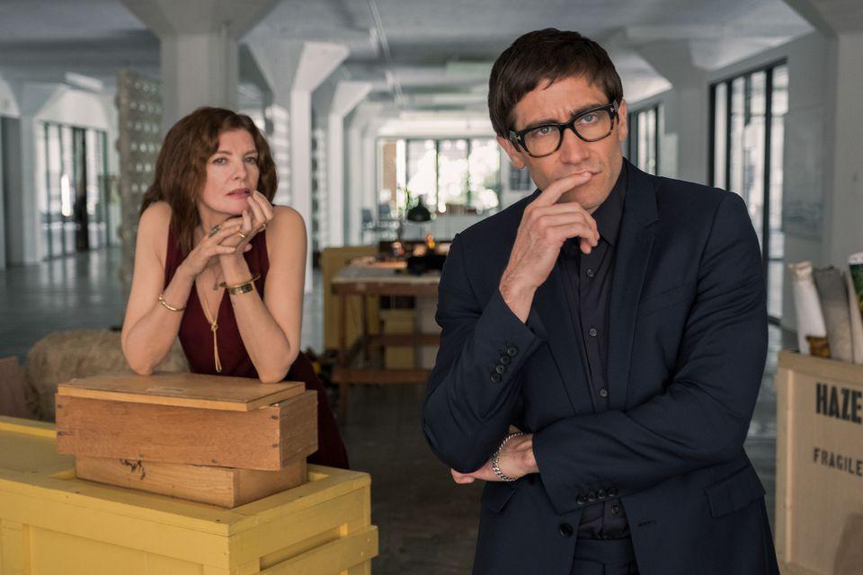 """Rene Russo and Jake Gyllenhaal star in """"Velvet Buzzsaw."""""""