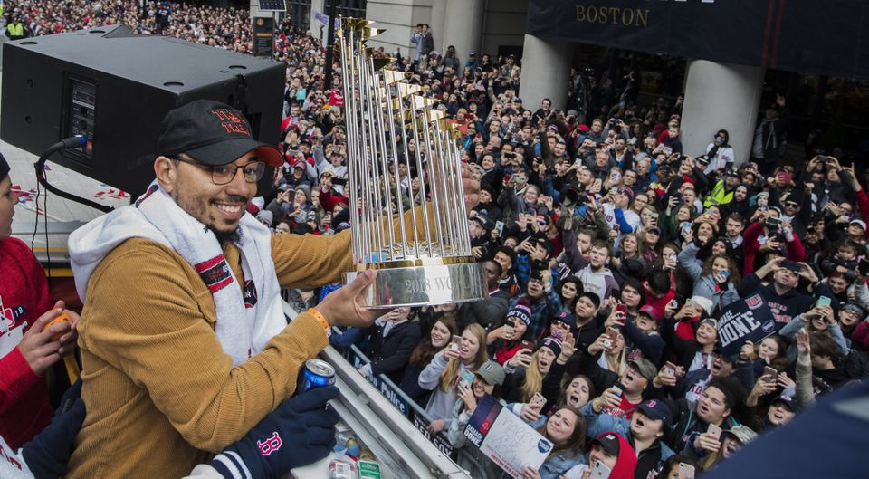 Mookie Betts had a 30-30 season, won the batting title, led the league in slugging, scored 129 runs, played spectacular defense in right field, and conducts himself with even more grace than he plays with.