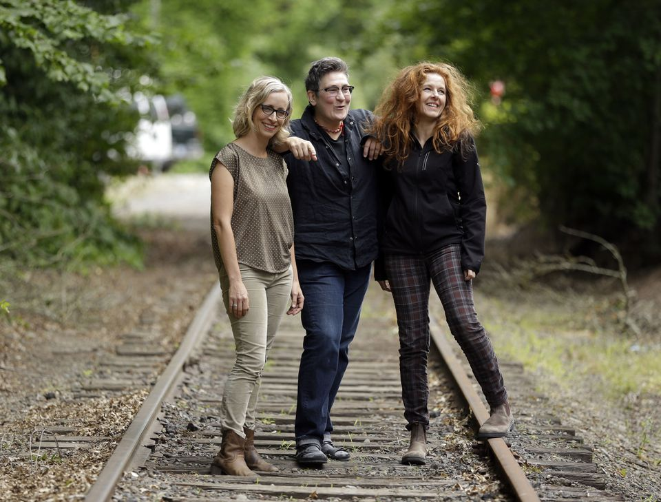 From left: Laura Veirs, k.d. lang, and Neko Case have collaborated on a new album and tour.