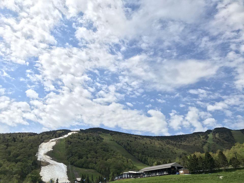 This photo of Killington's Superstar trail was taken Wednesday.