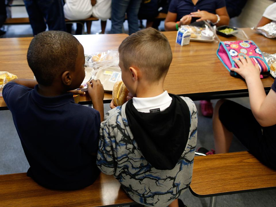 Boston school officials are hoping more students will eat the school lunches now that cost is not a barrier.