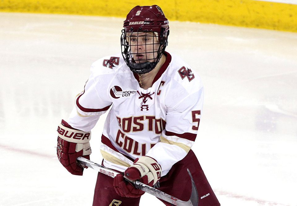 At BC, Alex Carpenter won the Kazmaier Award as the nation's top player in 2015.