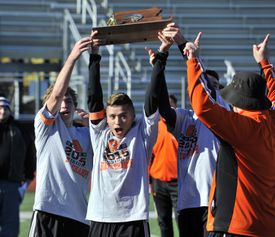 Christopher Romero set career highs with 12 goals and 16 assists as Oliver Ames won its first state title.