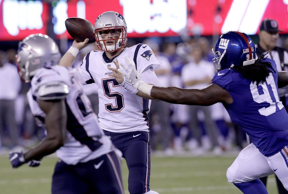 Danny Etling is not an NFL quarterback yet, but there are sparks of skill that make you hope they can keep him on the practice squad.