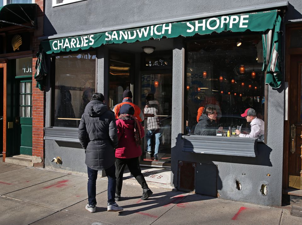 Charlie's Sandwich Shoppe reopened on Friday.