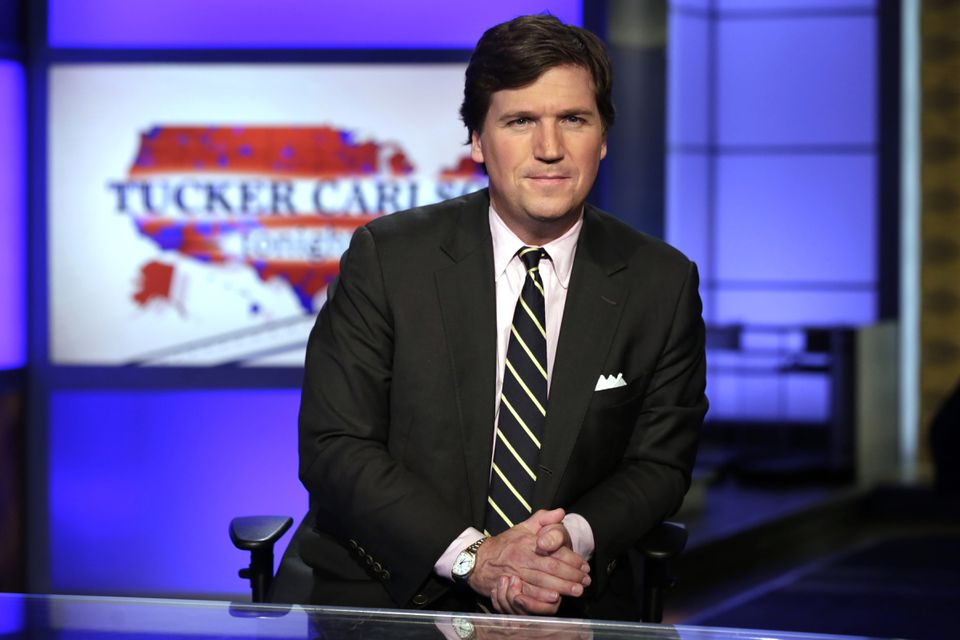 Fox News host Tucker Carlson.