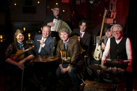 Session Americana players (from left) Laura Cortese, Jim Fitting, Dinty Child, Ry Cavanaugh, Kimon Kirk, Jon Bistline, and Billy Beard.