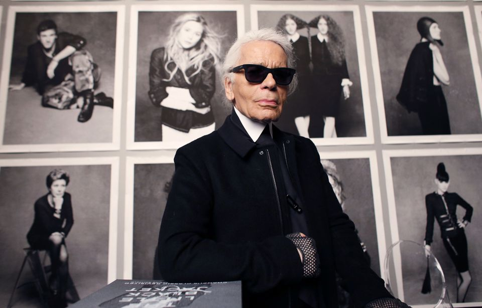 Mr. Lagerfeld was a designer, author, and photographer.