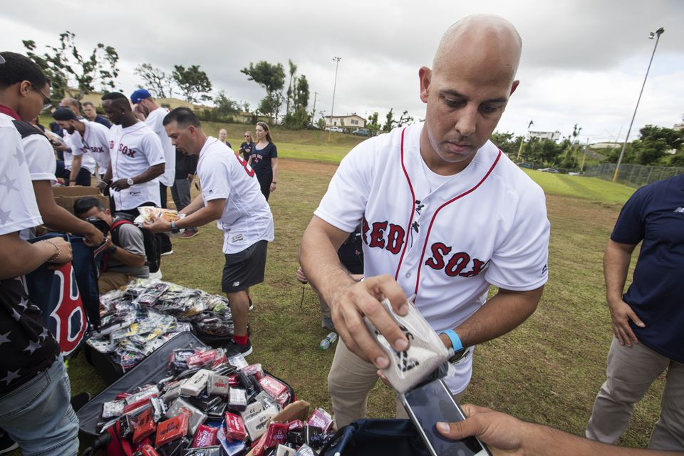 Alex Cora is still unsure about going to the White House with the Red Sox after President Trump's comments about Puerto Rico's relief efforts after Hurricane Maria.