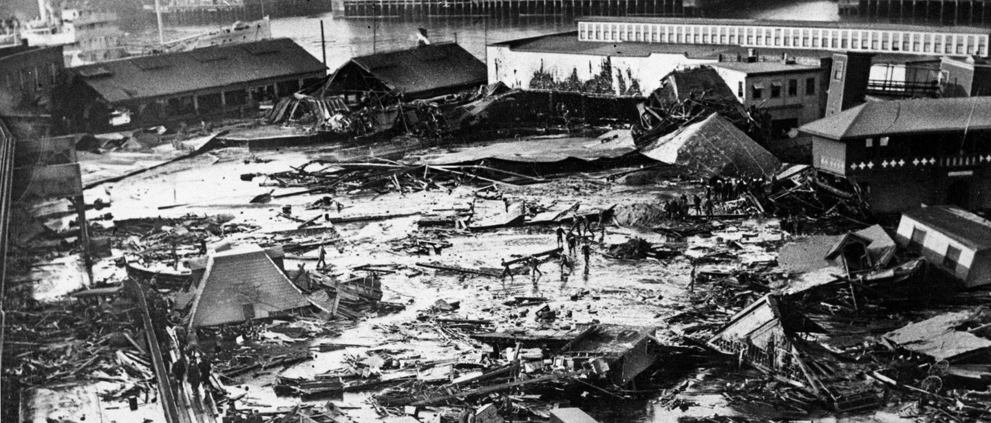 The Great Molasses Flood of 1919 was Boston's strangest disaster
