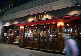 Capo is on West Broadway in South Boston.