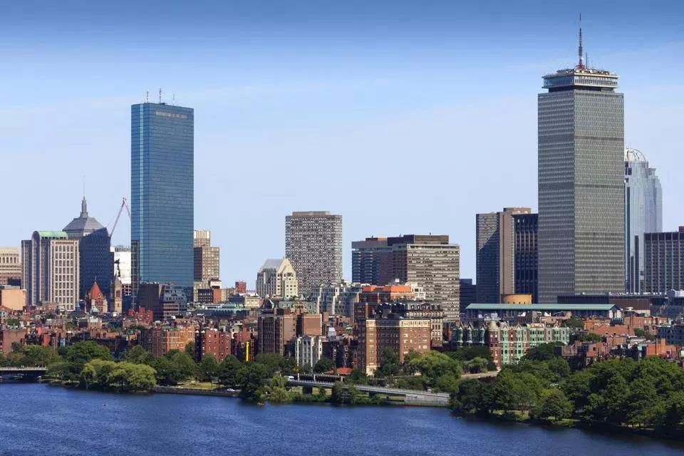 Part of Boston's skyline.