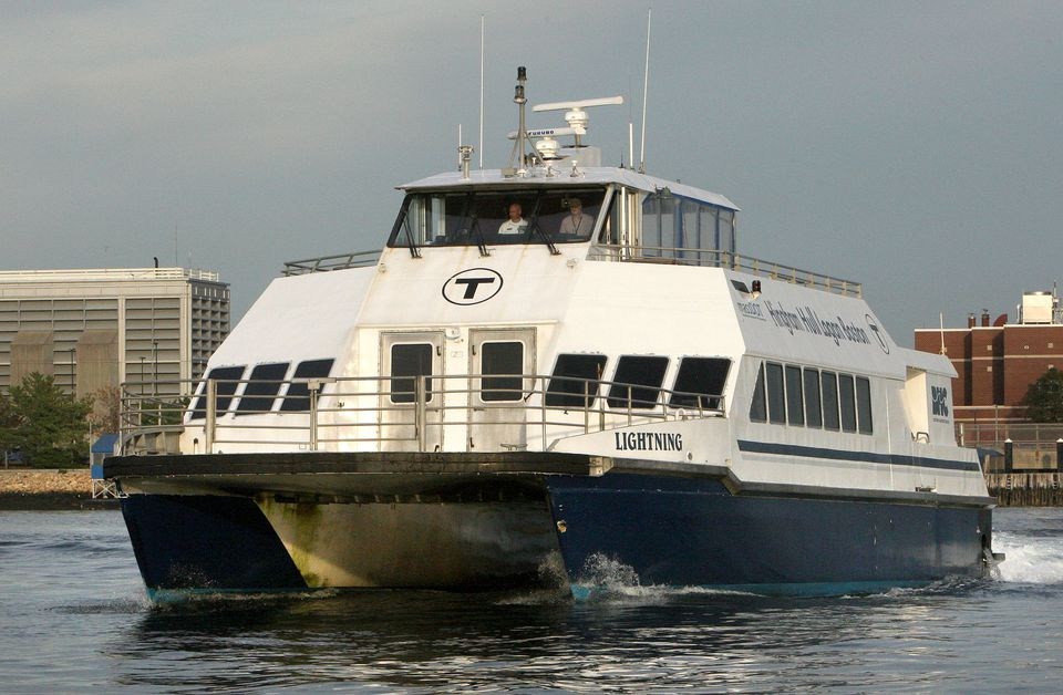 Among the proposals: Ferry service from the Seaport to North Station. Above: An MBTA commuter boat in Boston Harbor.