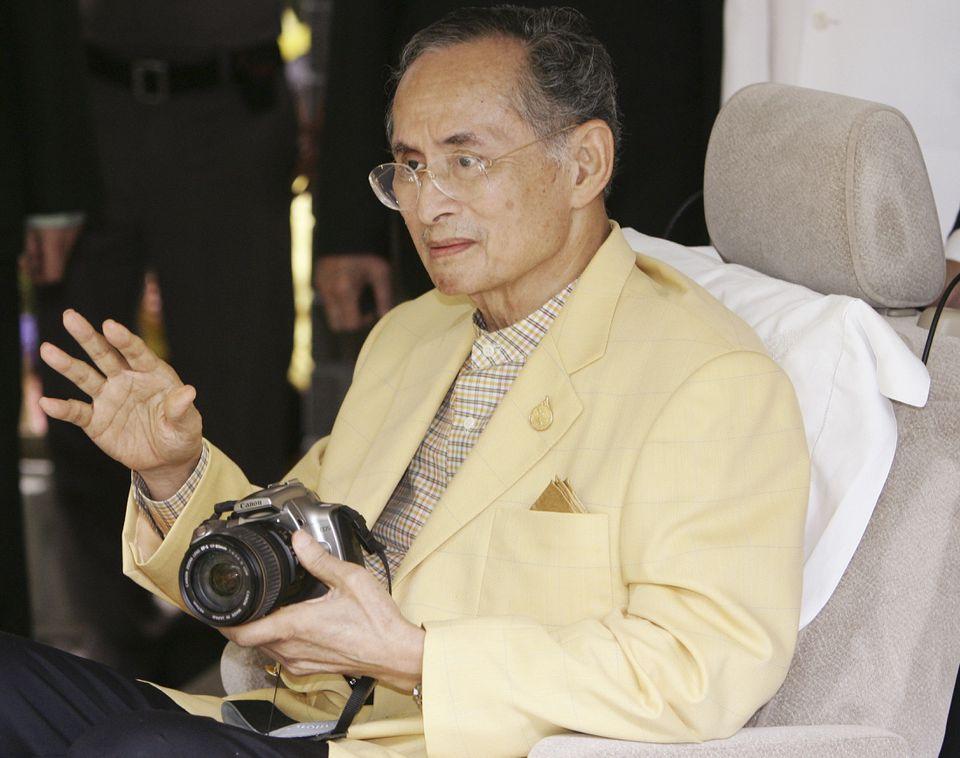 Thailand's King Bhumibol Adulyadej, pictured in 2006, was born in Cambridge, Mass.