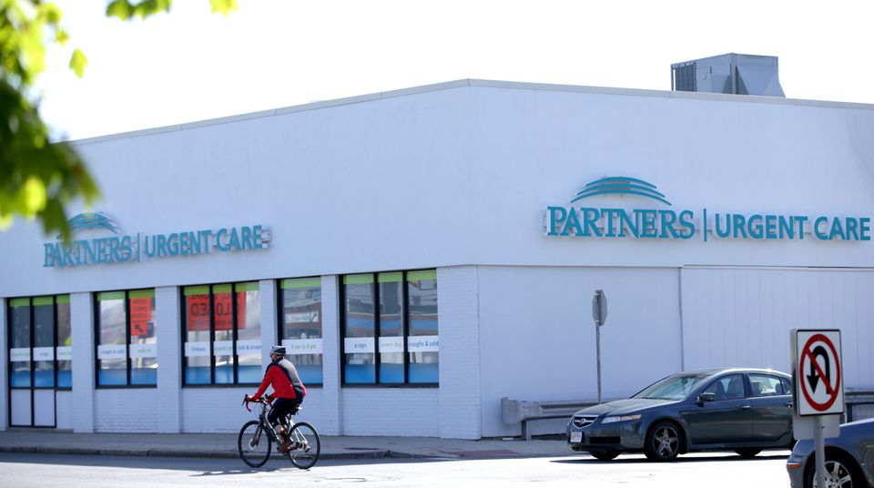 The Partners Urgent Care center in Medford is one of two closed by the health care giant. Officials said the Medford location will reopen. The other closed location is in Burlington.