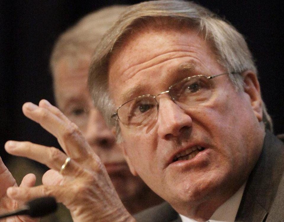 Former Massachusetts Attorney General Scott Harshbarger.