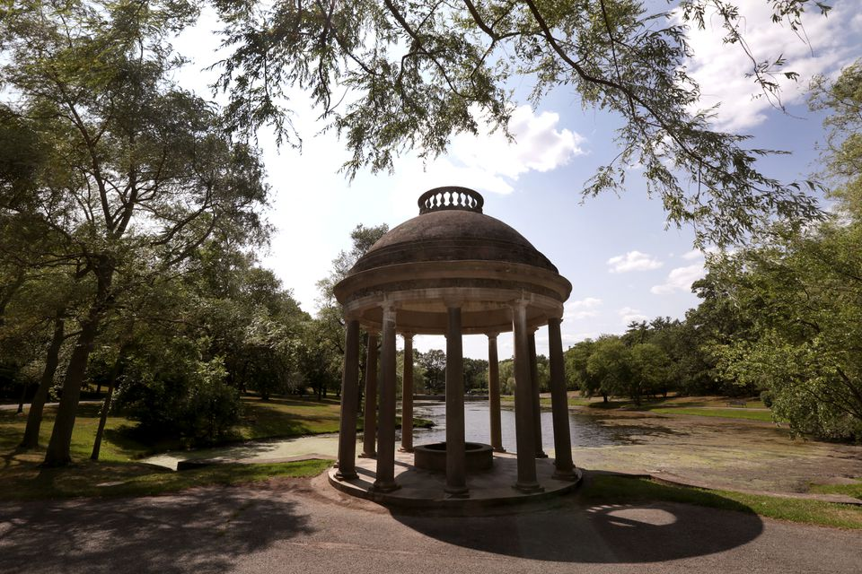 The Temple of Love is still a popular spot in Brookline.