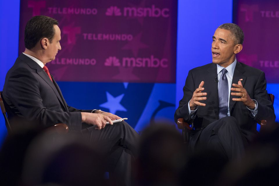 President Obama's appearance at a recent town hall meeting on immigration hosted by Jose Diaz-Balart of Telemundo in Miami reflected the growing influence of Spanish-language audiences, which Telemundo Boston hopes to reach.