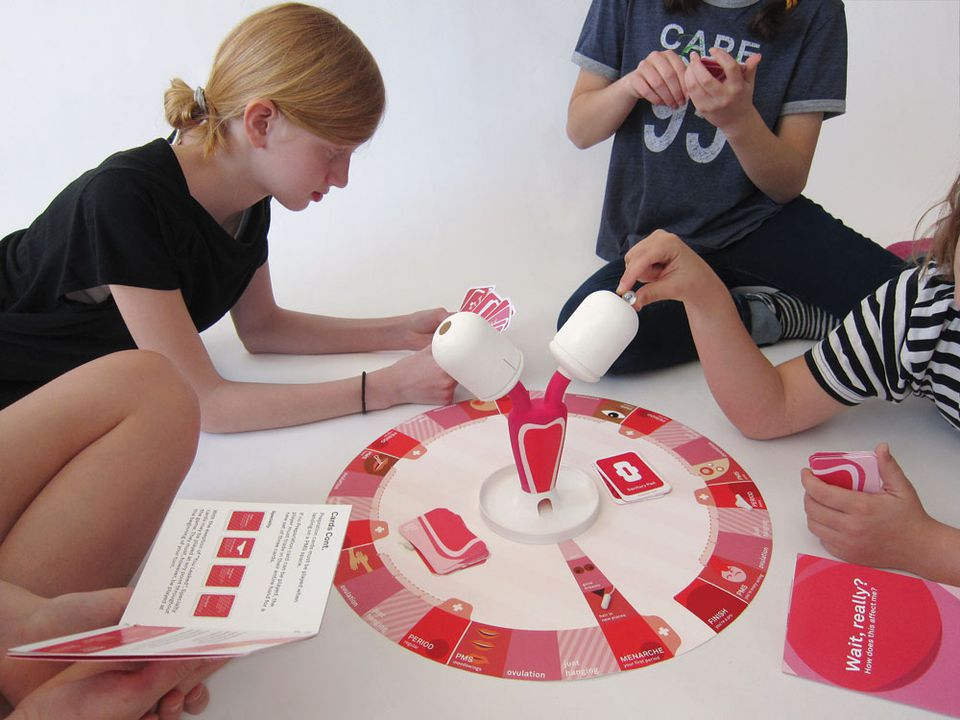 The Period Game was designed by two RISD grads, Daniela Gilsanz and Ryan Murphy.