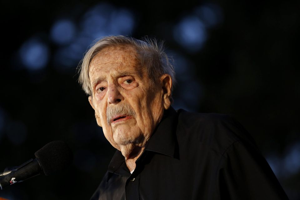 Mr. Gouri was often described as the last of Israel's national poets.