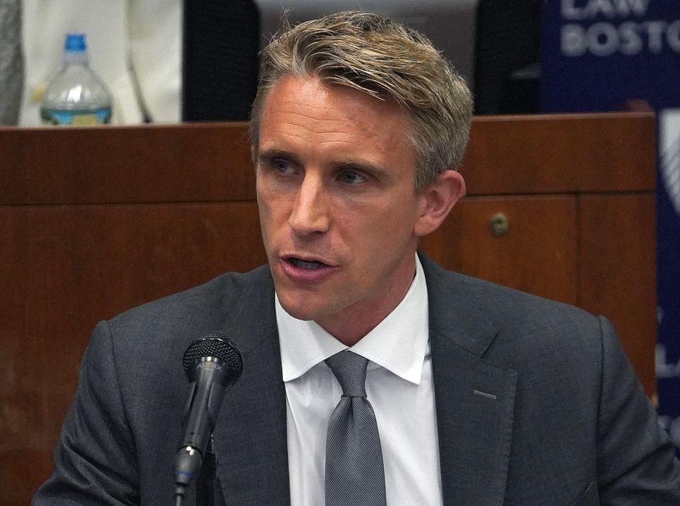 Suffolk DA candidate Michael Maloney.