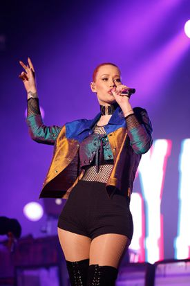 Iggy Azalea will be among the performers at the Kiss Concert 2016.