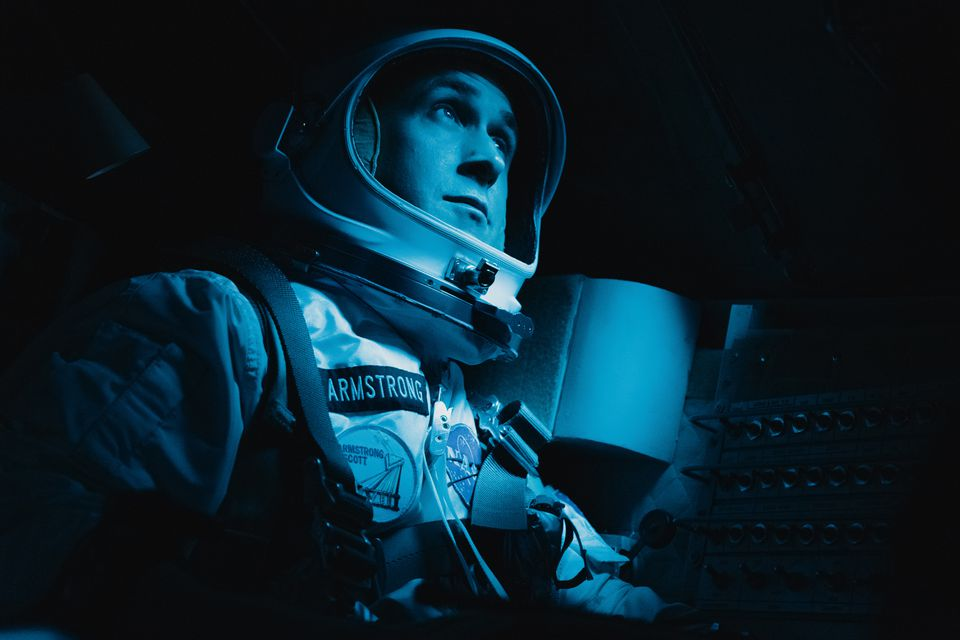 """Ryan Gosling stars as astronaut Neil Armstrong in """"First Man."""""""