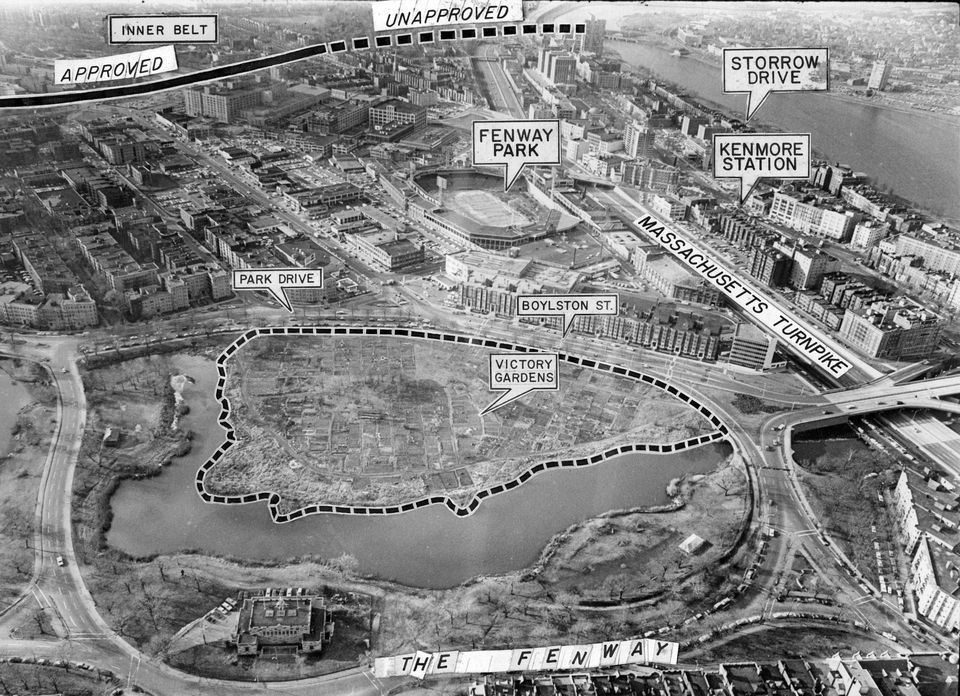 Boston would have had a mini Interstate 95 if the 1948 Master Highway Plan had been realized.