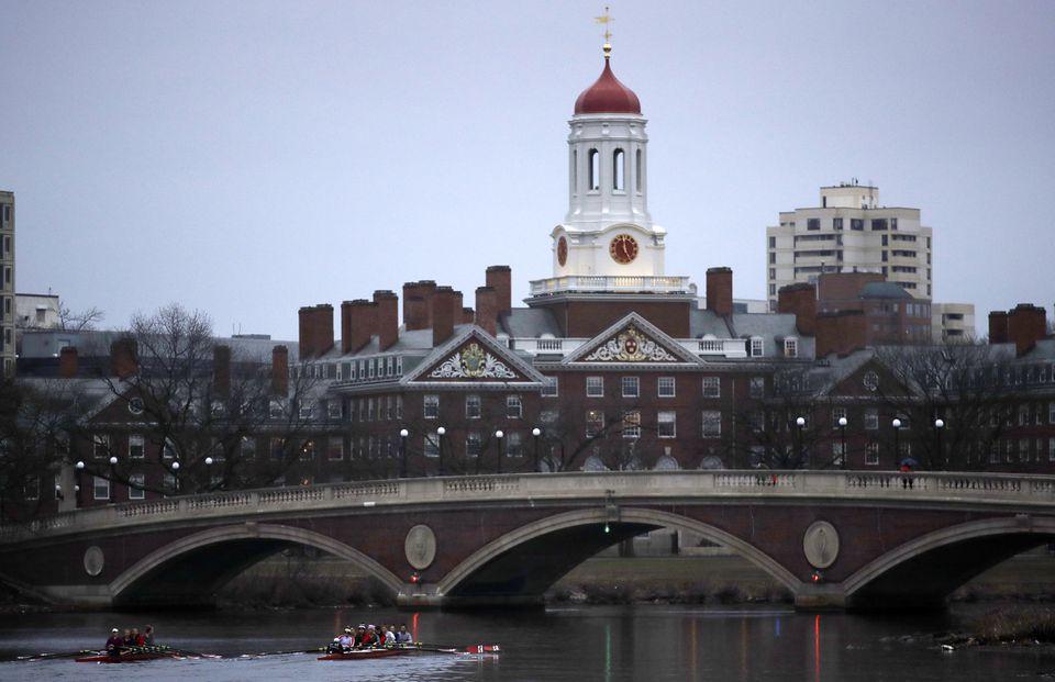 Harvard University campus in Cambridge.