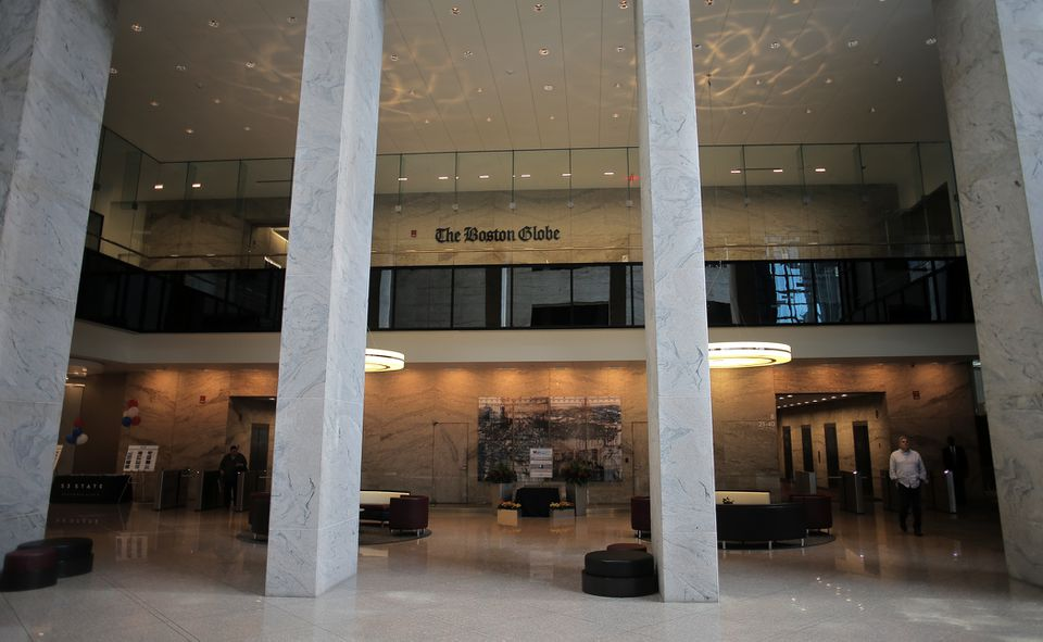 The Boston Globe is among the tenants at 53 State St.