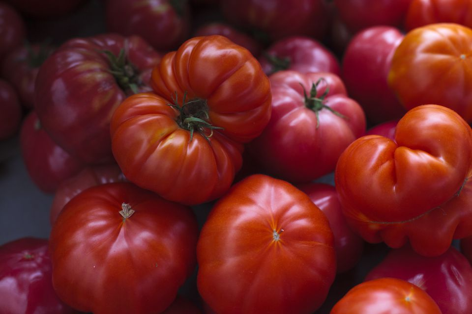 There is nothing like a fresh tomato.