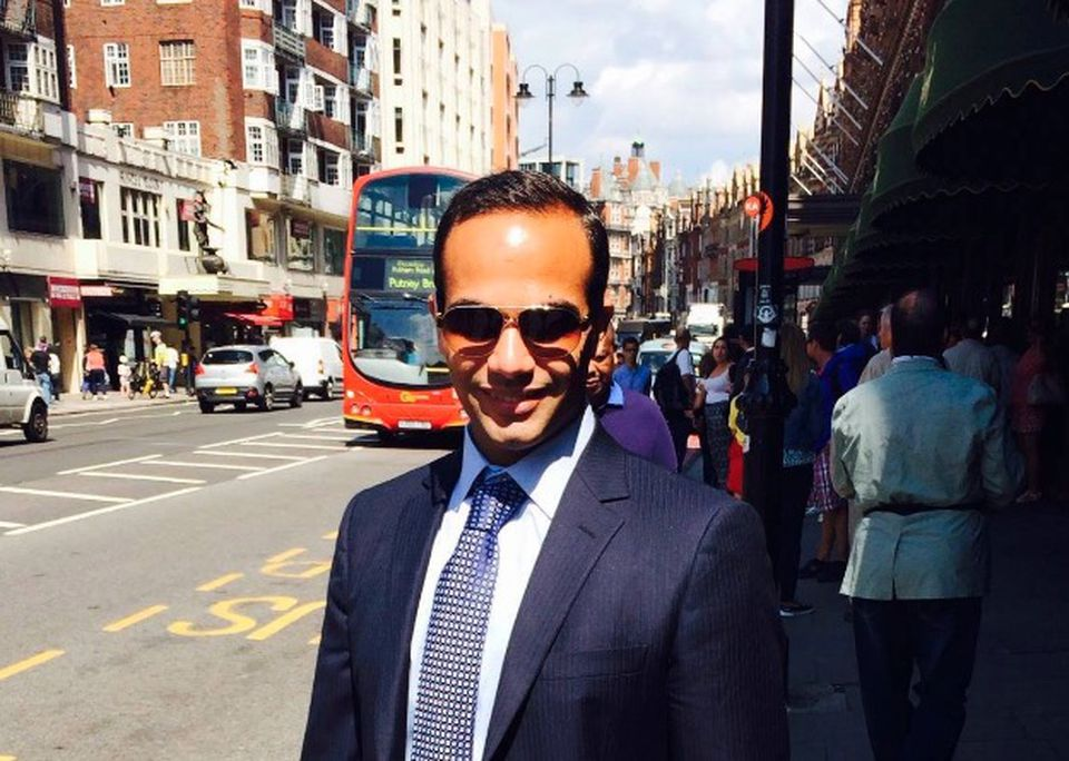 George Papadopoulos, an ex-Trump aide who admitted to lying to the FBI about pursuing Russia's help in the 2016 election.