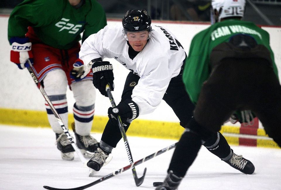 As he prepares to play a full season as a professional, Ryan Donato has been playing in the Foxboro Pro League this summer.